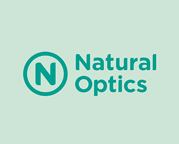 Logo Natural Optics Glass