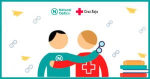 Natural Optics y Cruz Roja firman un convenio para realizar acciones solidarias en 2021